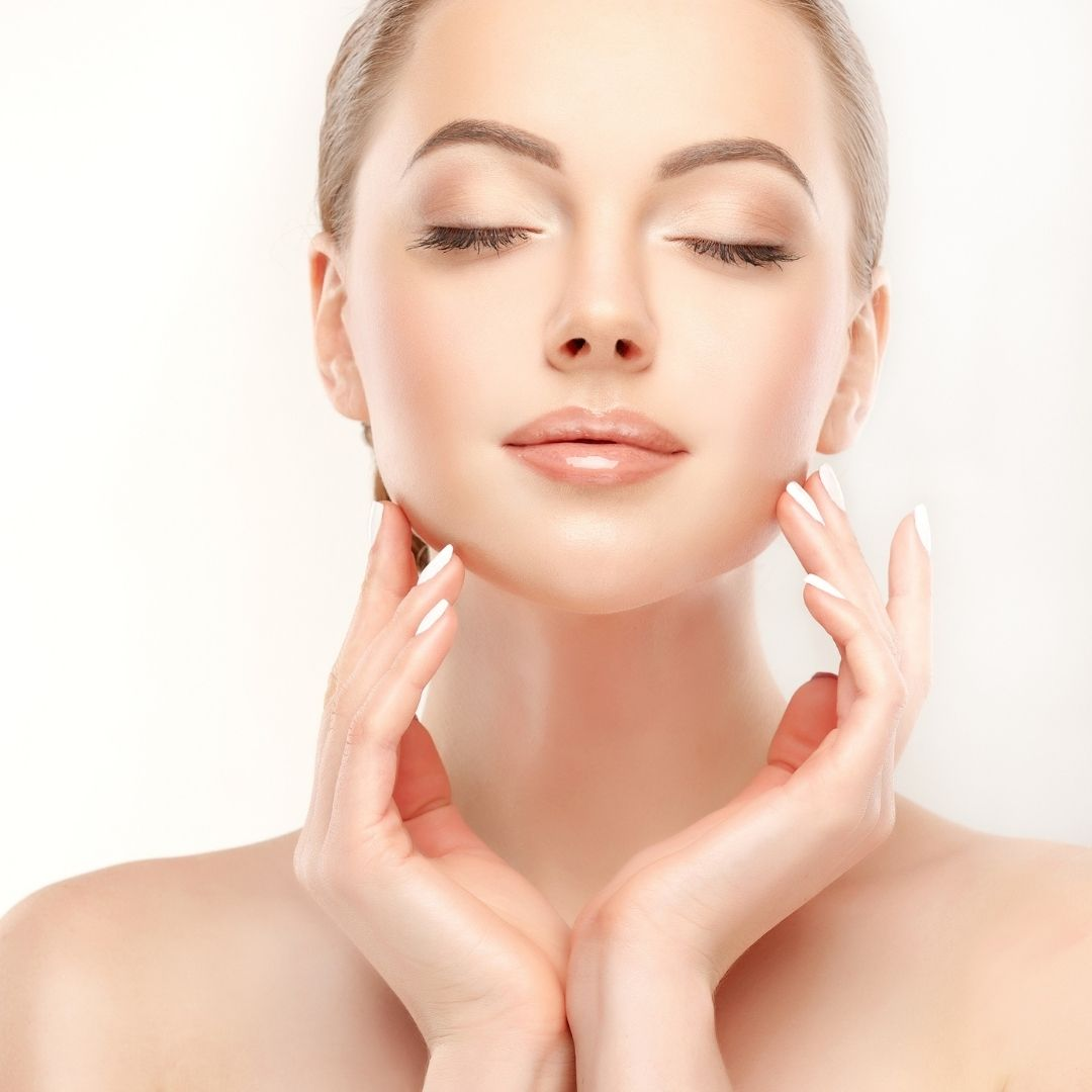 A sweet faced young woman with perfect skin plumpness demonstrates Dermal Fillers by Medical Injectables in Wollongong and Orange NSW