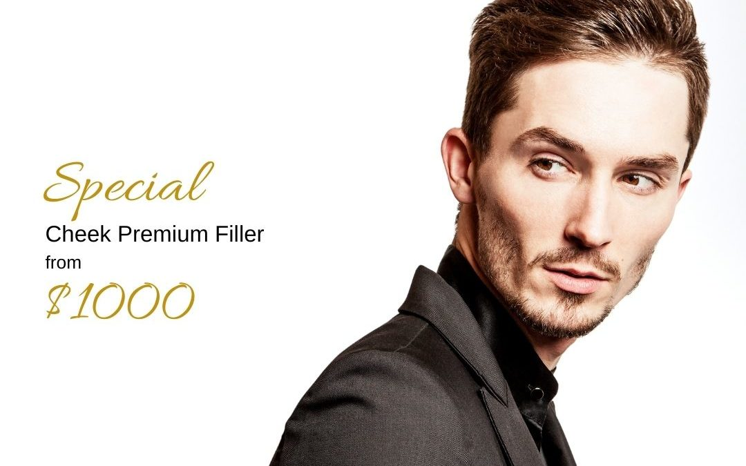 Special offer for premium cheek filler by Medical Injectables in Wollongong and Orange, NSW