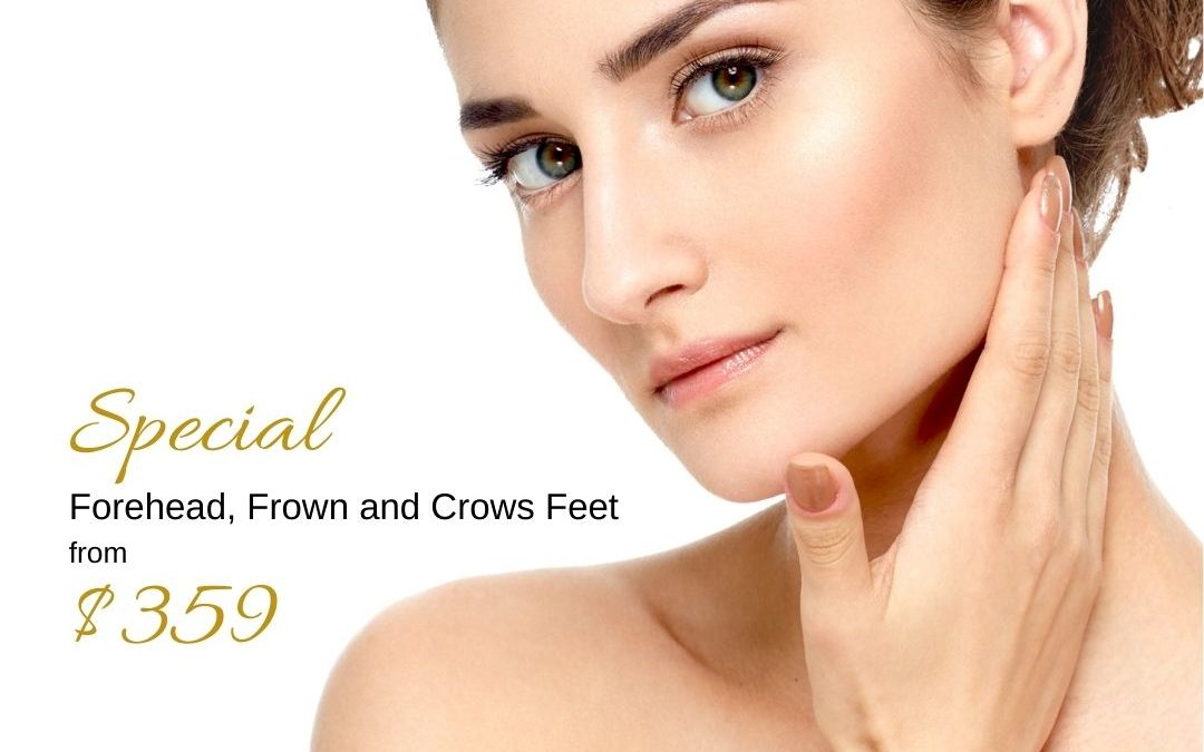 Special offer for anti-wrinkle injections for Forehead, Frown and Crows Feet by Medical Injectables in Wollongong and Orange, NSW